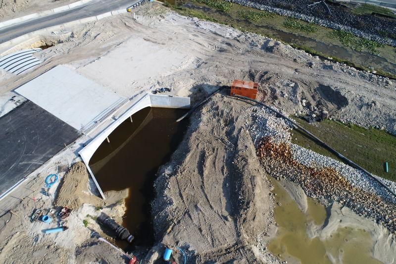 drainage survey photo