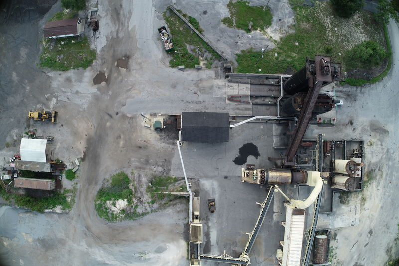 aerial surveying and mapping for inventory measurement