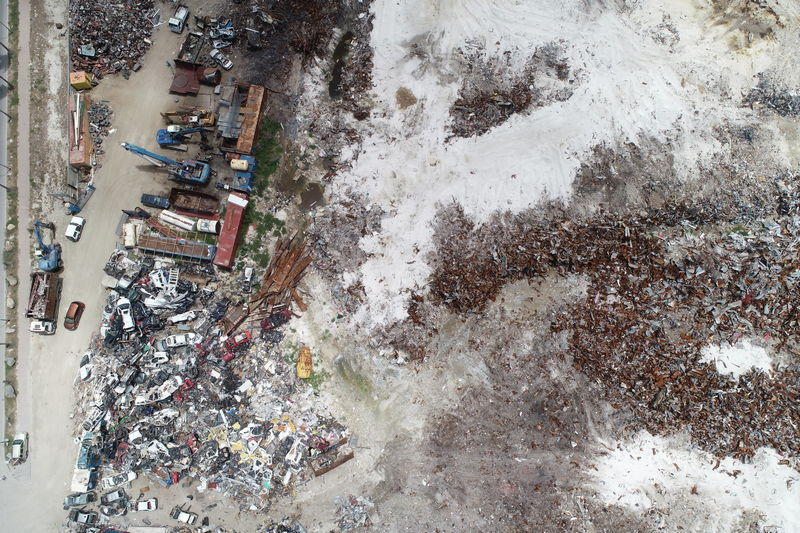 landfill capacity calculations with a drone