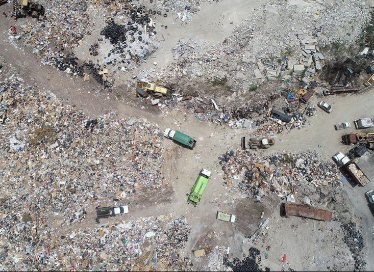 landfill aerial survey for volume