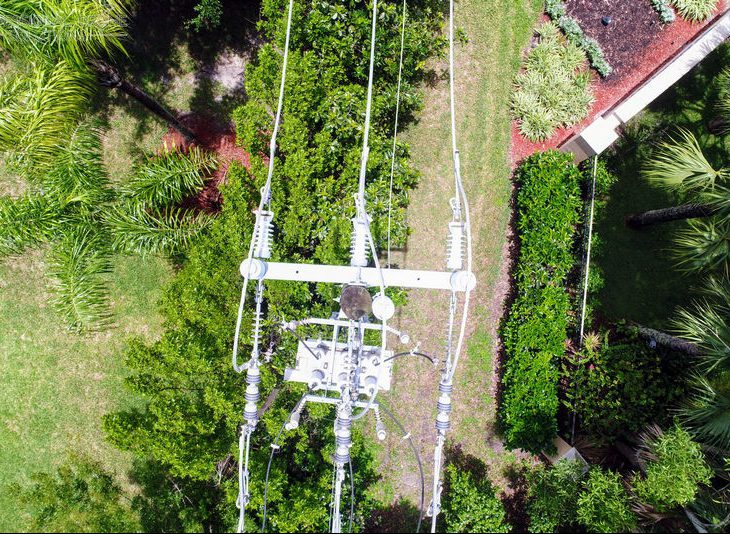survey and inspection of powerline